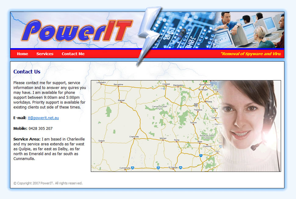 Power IT - Contact Me